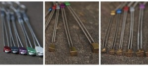 A selection of micro wires. Left DMM offsets, middle RP's and right DMM brass offsets.