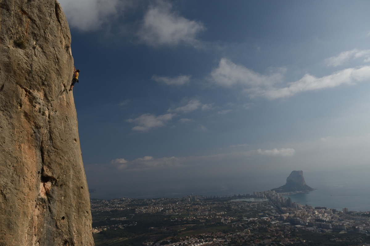 Hot Rock Climbing Holidays in Spain